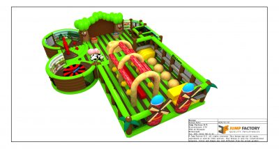 Inflatable Theme Park Design I