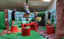 Inflatable Park - Sweeper arm - Jump Factory